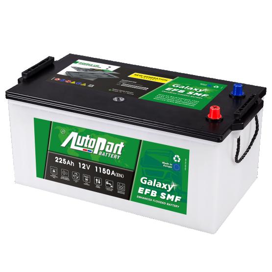 Autopart Galaxy EFB SMF battery