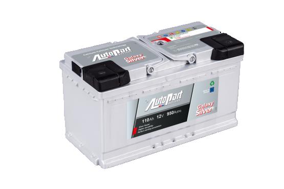 Autopart Galaxy Silver battery